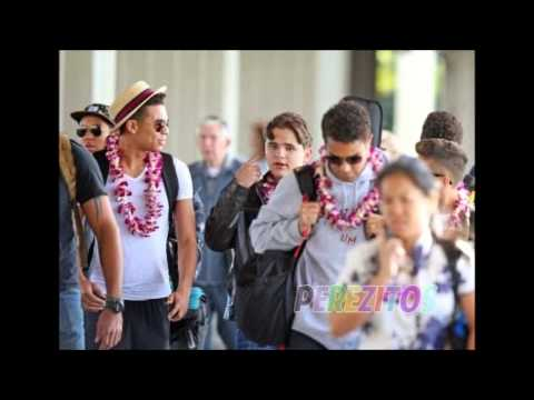 *NEW PHOTOS* (Dec. 23) Prince and Blanket Jackson arriving Hawaii 2013