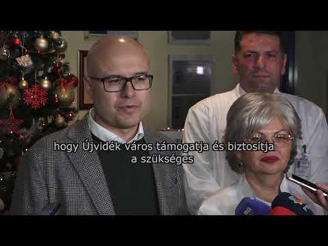 2020.01.01. Lenka Dinčić – az új év első újvidéki kisbabája