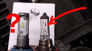 Here's why you don't buy cheap LED headlights | Halogen vs. LED