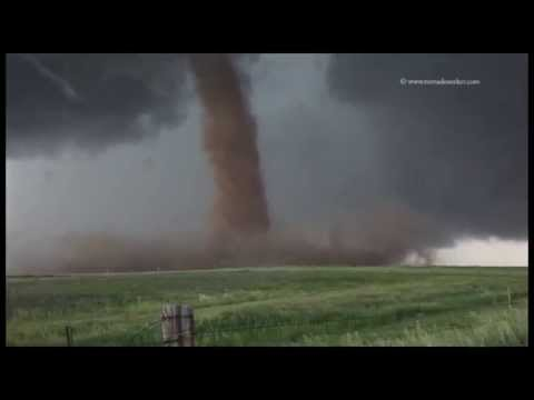 Supercell and tornadoes, Simla, CO - June 4th 2015 Pt2