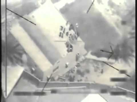 IRAQ!  Drone Attack Footage