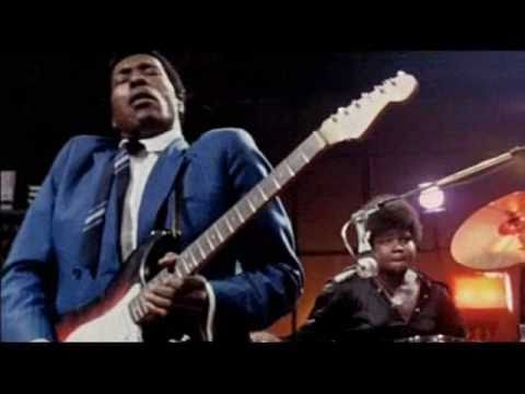Buddy Guy in 1969 with Jack Bruce and Buddy Miles