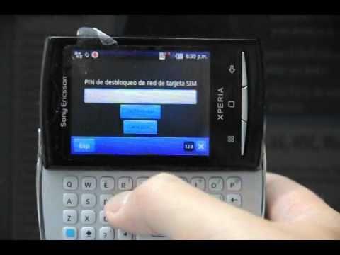 Liberar Sony Ericsson X10 Mini Pro. cómo desbloquear Sony Ericsson XPERIA de Vodafone - Movical.Net