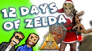 12 Days of Zelda - Funny Zelda Christmas song sung by Ted and Peter!   The Basement
