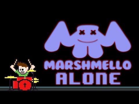 Marshmello - Alone (Drum Cover) -- The8BitDrummer