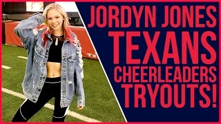 Download Lagu Jordyn Jones' Texans Cheer Try Out  | IN THE NFL Gratis STAFABAND