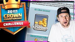 20 Win Challenge • Most Popular Deck!?  |  Clash Royale