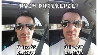 Galaxy S9 (2018) vs Galaxy S5 (2014) Camera Comparison (Video/Photos) Big Difference?