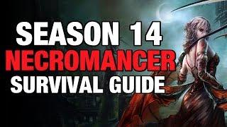 Diablo 3 - Necromancer Pestilence Starter Build Guide Season 14 2.6.1