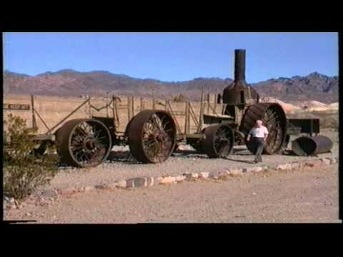 OLD DINAH STEAM TRACTOR AND ORE WAGONS.