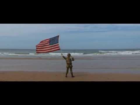 Project Vigil: D-Day 2014, The saluting boy on Omaha beach