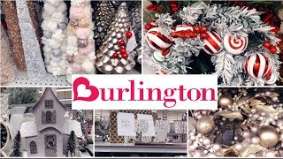 BURLINGTON CHRISTMAS SNEEK PEEK  & GLAM HOME DECOR| SHOP WITH ME!!!