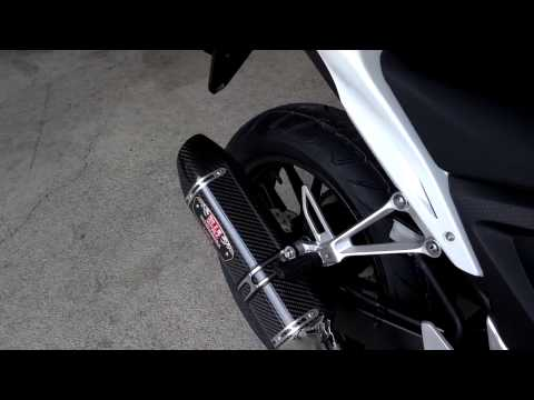 Honda CB500F Yoshimura R 77 Exhaust Sound Clip CBR500R   CB500X at Honda of Chattanooga TN