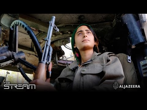 Kurdish female fighters battle ISIL and stereotypes
