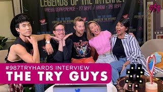 #987TryHards Interview The Try Guys