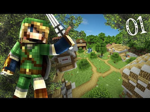 A NEW ADVENTURE! (Minecraft Legend of Zelda Custom Adventure #1)