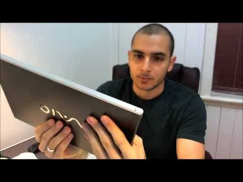 "New Sony VAIO 2011 Z Series VPCZ217GGX Intel Core i7 13.1"" Notebook Unboxing & First Look"