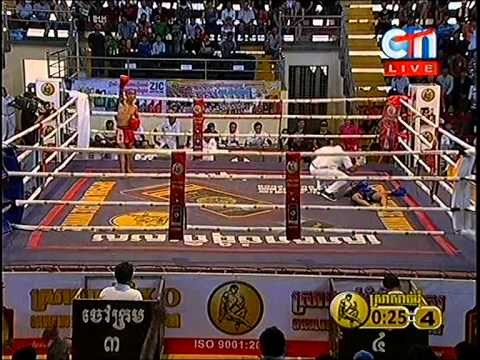 CTN Boxing, Rern Thea Rert VS Thai Ra Yot, 24-Aug-2014, Round 04