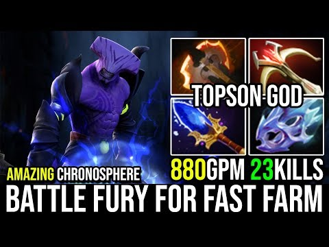Faceless Void With BF Build so Freaking OP - Topson Super Chrono He's Everywhere 23KIlls 7.20 Dota 2
