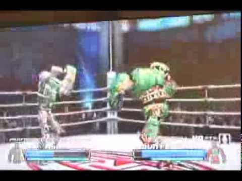 Real Steel Head Crushing Finish Move - xbox 360