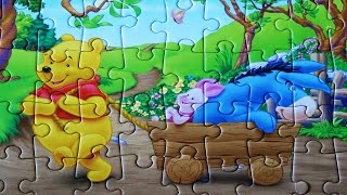Winnie The Pooh Puzzle Disney Games Jigsaw Puzzles Rompecabezas Learning Kids Toys
