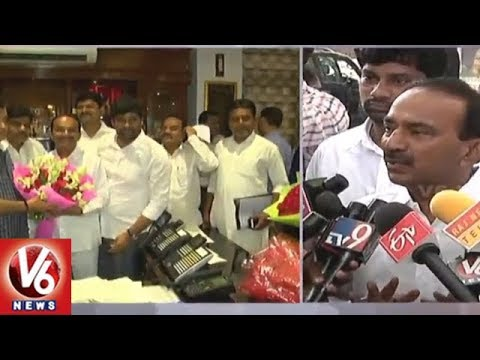 Minister Etela Rajender Meets Union Ministers Over Mancherial- Hyderabad Highway | V6 News