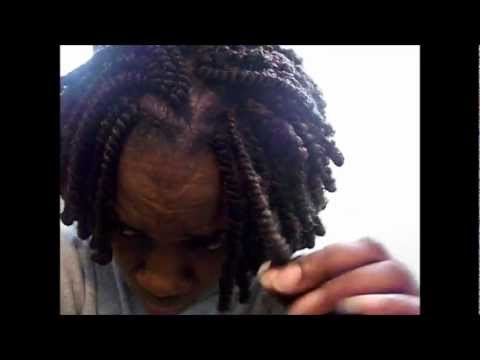 Kinky Twist Tutorial How To Braid And Rod Your Hair*