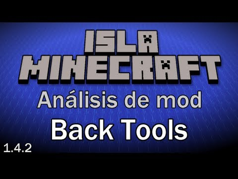 Minecraft Mini-mods: [1.4.2] Back Tools (Español)