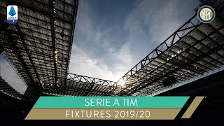 INTER SERIE A 2019/20 FIXTURES | KEY DATES | Inter vs Juventus, #DerbyMilano...