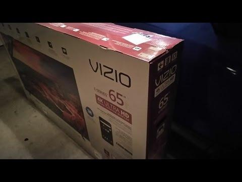 Vizio 65 inch 4K ULTRA HD TV GOODNESS!