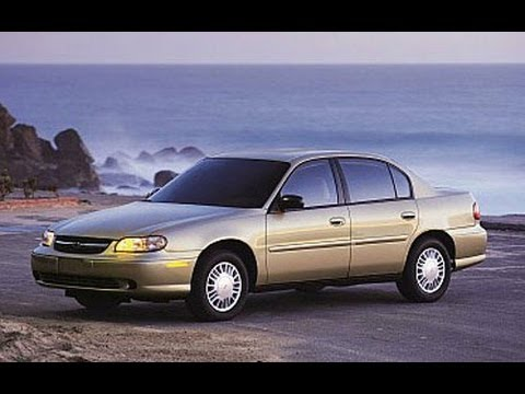 2002 Chevrolet Malibu Start Up and Review 3.1L V6