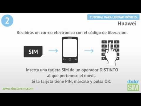 Liberar Huawei, Desbloquear Huawei