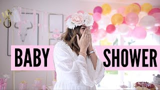 ✿ MEINE BABYSHOWER PARTY ✿▹ AnnaMaria ♡