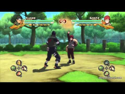 Naruto Ultimate Ninja Storm 3 All Tilts