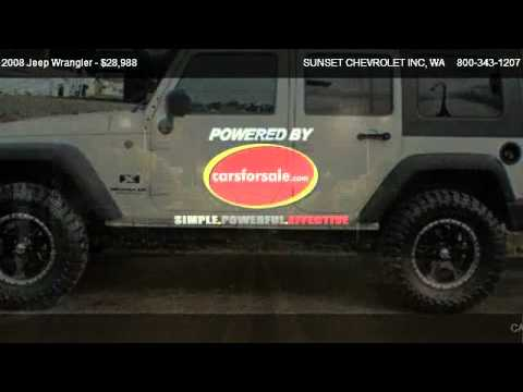 2008 Jeep Wrangler X Unlimited 4 Door 4x4 Suv Lifted