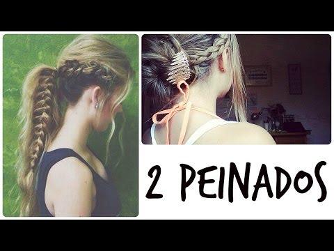 2 Peinados Sencillos Rapidos Y Bonitos Para Verano - Back To School