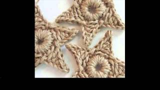 crochet star square