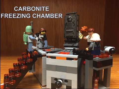 LEGO Star Wars Carbonite Freezing Chamber Review!!
