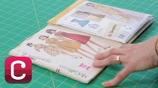 How to Read a Sewing Pattern with Liesl Gibson I Creativebug