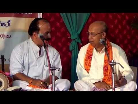 Yakshagana -- ''hoyithu Hothu Nodu Bhavayyaa'' .. Mohana ..raga -  Balipa & Holla Dwandwa video