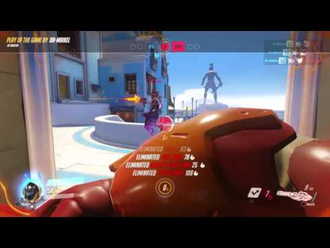 Overwatch: Origins Winston Play of the game make them fly
