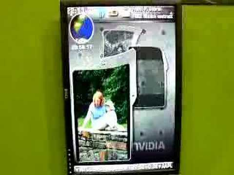 Shiny at 3GSM: NVIDIA next-generation mobile phone interface