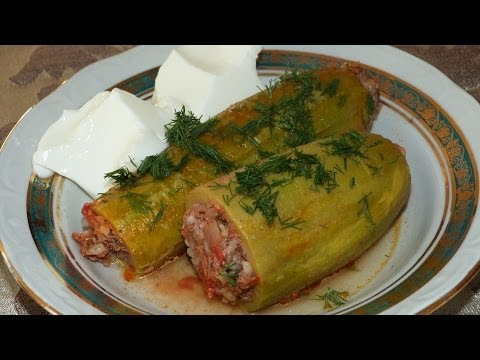 Фаршированные кабачки | Кабачки по-турецки