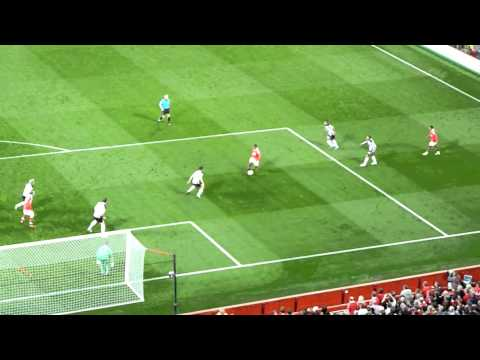 Man U 3-0 Newcastle Goal Darren Fletcher