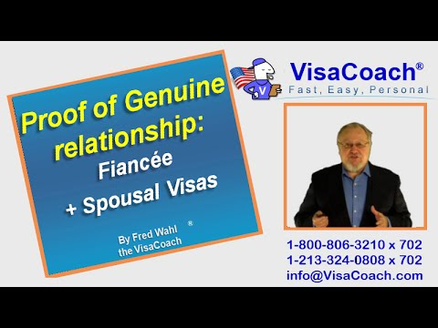 Proof of Genuine relationship: Fiancee K1 Visa + Spousal CR1 Visas