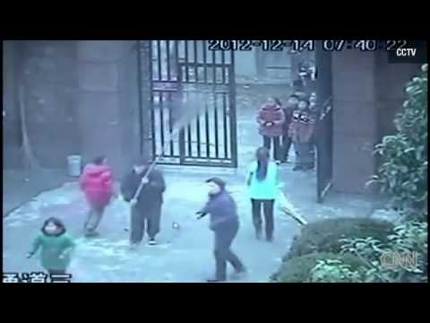 Knife attack at school in China wounds 22 elementary student on the same day