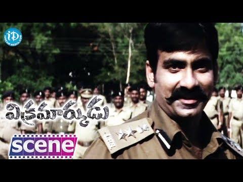 Vikramarkudu Movie Best Dialogue - Ravi Teja - Prakash Raj