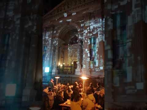 New Year 2020 at Budapest Hungary Saint Szent Istvan Basilica  , Nowy Rok 2020 w Budapeszcie Węgry