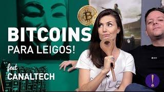 BITCOINS PARA LEIGOS! É investimento?| Como comprar? (Feat CanalTech)