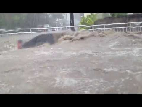 Mauritius Flood on March 30th in Port Louis
